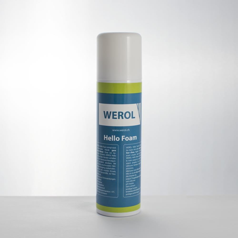 Hello Foam, Hand Reinigung Schaum
