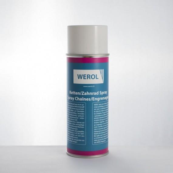 Ketten Zahnrad Spray